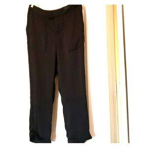 {Joie} Highwaist Silk pants